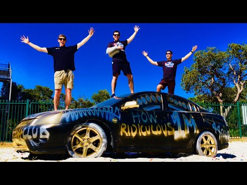 ANVILS VS. CAR from 45m TOWER!! (1 MILLION SUBS CELEBRATION)