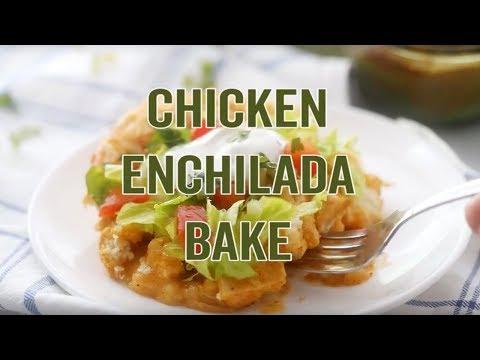 How to make: Bisquick Chicken Enchilada Bake