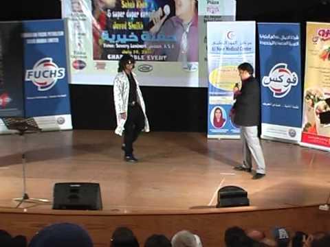 Singer SAHEB KHAN with Pakistani Comedian Javed Shaikh alias Jr. Govinda