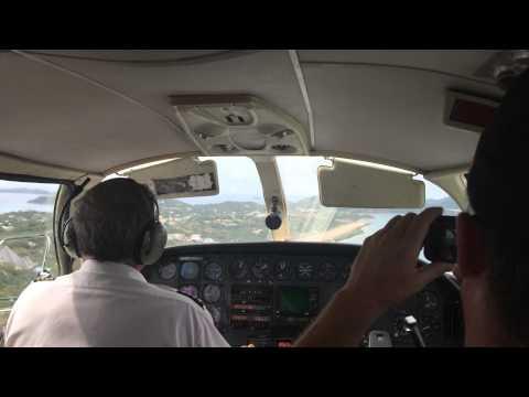 Landing Virgin Gorda, BVI Airport