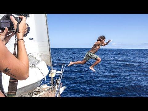 14 INCREDIBLE DAYS AT SEA: Passage to Brazil Pt. 4! Sailing Vessel Delos Ep.168