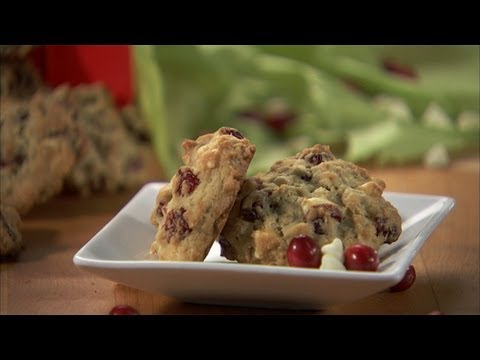 White Chocolate Chip Cranberry Oatmeal Cookies HD