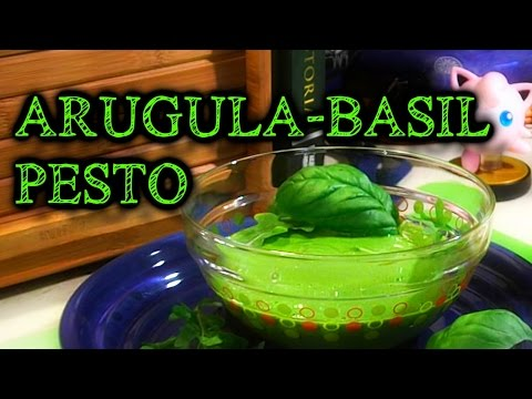 Arugula-Basil Pesto : How to Vegan Video Recipe