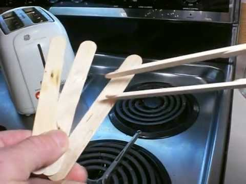 Craft Stick Toast Tongs