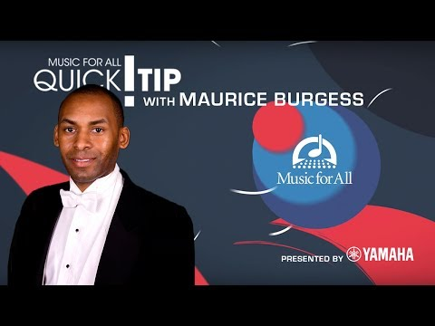 Quick Tip with Maurice Burgess
