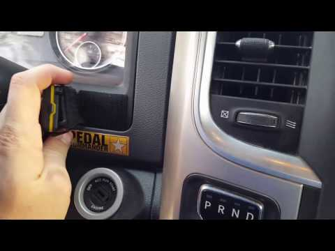 Pedal Commander installed 2016 Ram 1500