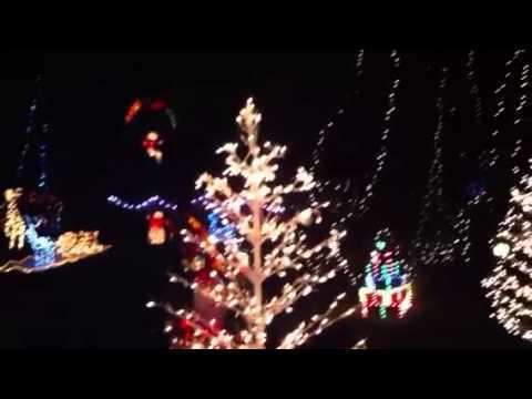 Christmas Lights in Pontefract 2012