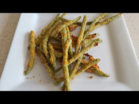 Air Fryer Fried Green Beans Airfryer Todd English