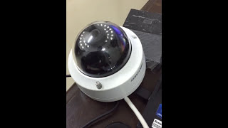 How to reset and factory default a Hikvision IP Camera