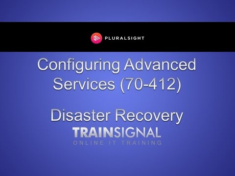 Disaster Recovery in Windows Server 2012