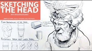 SKETCHING THE HEAD 2: FORMS AND SHAPES OF THE FACE