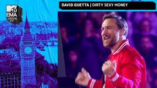 David Guetta, Charli XCX & French Montana Perform 'Dirty Sexy Money' | MTV EMAs 2017