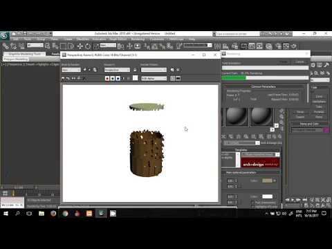 Wood Barrel 3Ds Max Tutorial