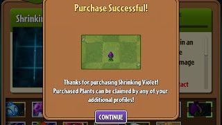 Download Plants vs Zombies 2 Epic Hack - Shrinking Violet Unleashed! Video