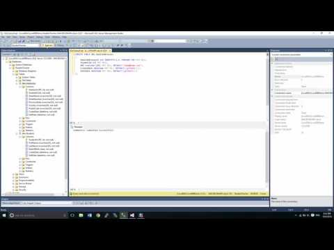 Microsoft SQL Server Management Studio Part 5 - Create Tables with Script and using Code Snippets