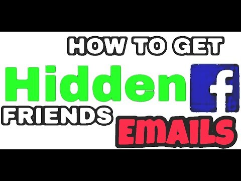 How to find Facebook Friends hidden Email Address [ Easiest Method 2017]