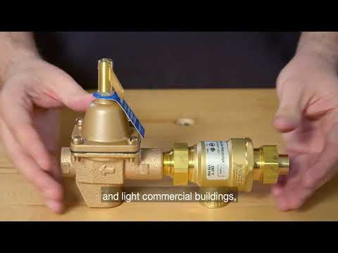 Watts Series 911: Combination Fill Valve and Backflow Preventer