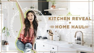 KITCHEN REVEAL + HOME HAUL