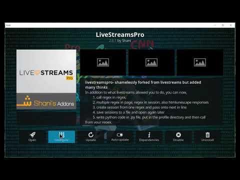 Free live tv with livestreampro  world list