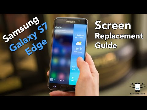 How to: Samsung Galaxy S7 Edge screen replacement