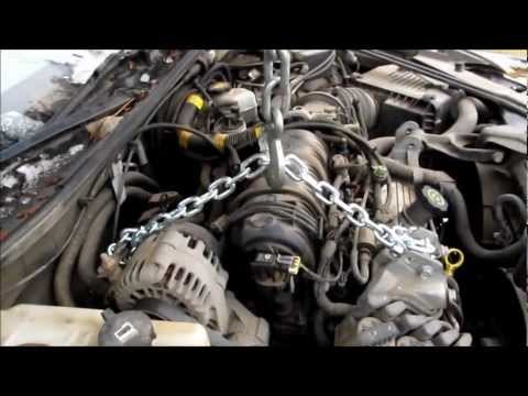 Changing an oil pan in a 2002 Pontiac Grand Prix How-to