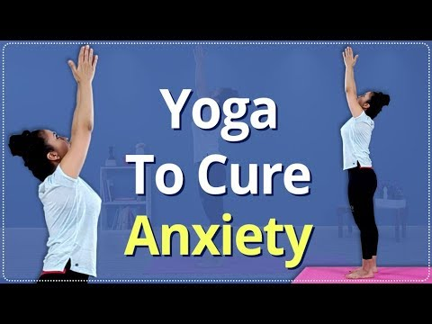 How To Treat Anxiety And Stress | Treat Stress In 3 Minutes | Simple Yoga Lessons | Beginners Yoga