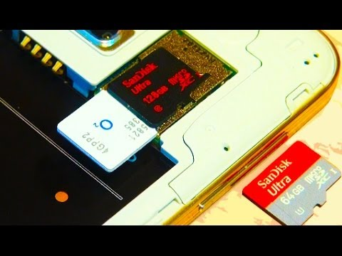 Samsung Galaxy S5 Insert / Install Micro SD / Sim Card