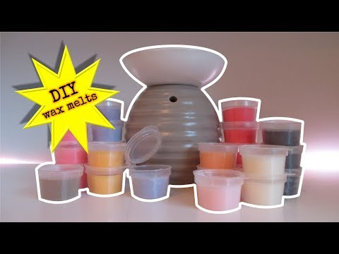 DIY was - wax melts maken www.soy-wax.nl