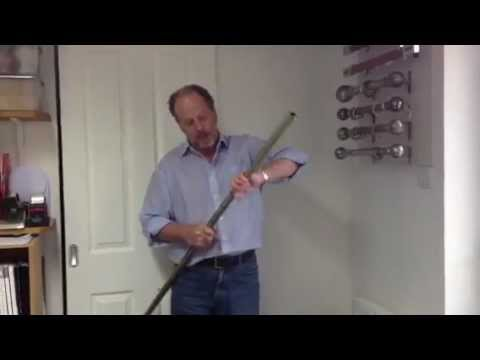 Fitting Curtain Poles - How to join 2 lengths of curtain pole