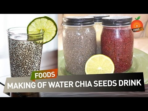 How to Prepare Water Chia Seeds Drink - ఎలా తయారు చెయ్యాలి ? | South Indian Recipes