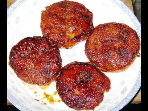 Cách Làm Cà Chua Dồn Thịt (Tomato, Pork) PAN FRIED Stuffed Tomato