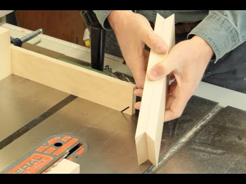 Making a perfect miter joint square box frame