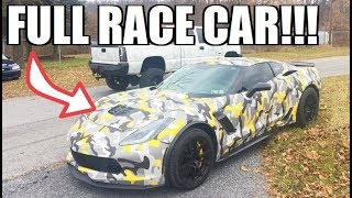 The Next Step for the 2017 Z06 RACE CAR!