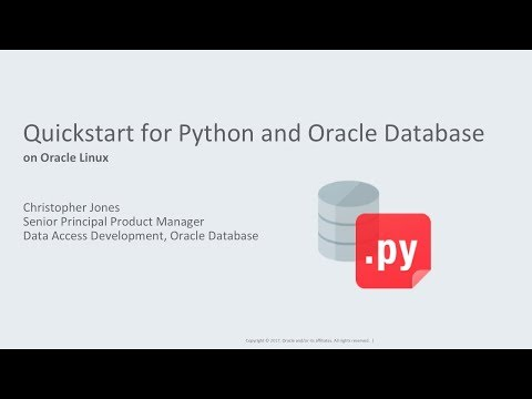 Quickstart for Installing Python cx_Oracle 6 for Oracle Database on Linux
