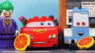 Lego Disney Cars 3 - Lightning McQueen and Guido Pizza Delivery Service
