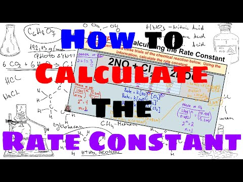 How to Calculate the Rate Constant of a Chemical Reaction
