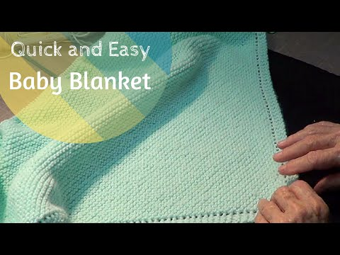 Quick and Easy Baby Blanket