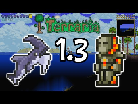 Terraria Tutorial - How To Get Molten Armor Early