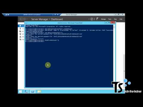 Creating User Accounts and Groups by using Windows PowerShell