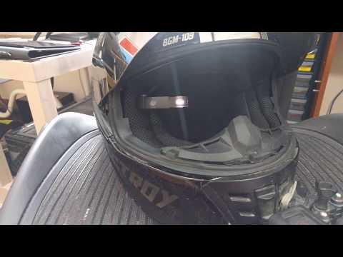 Helmet heads-up display
