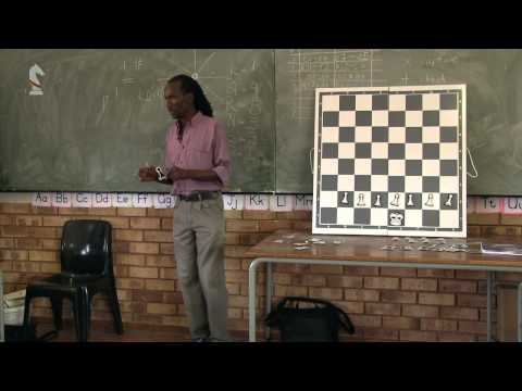 1. 4 How to move the Pawns - Chess Lessons for Teachers at Primary Schools in Africa