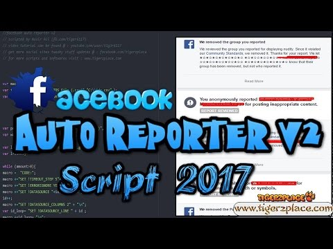 Facebook Auto Reporter v2 -- Automatic Reporting on Facebook Account/Group/Page