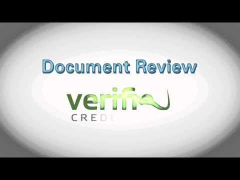 Verified Credentials - Student Document Review Service