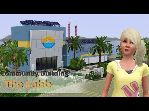 The Sims 3 - Building a Community lot #1 - The Labb (World Creations)