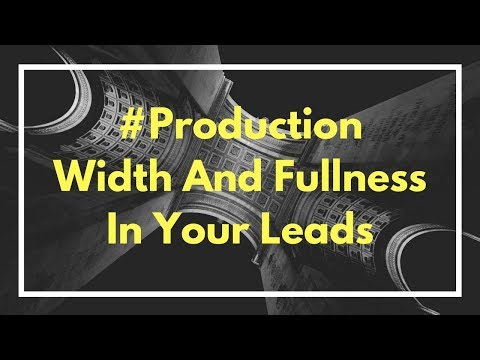 Make Your Lead Sounds Full And Wide
