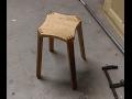 Fabrication d'un tabouret en Bois Partie 2/Build a wooden stool part2