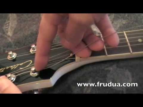Change strings - string your guitar so it will NEVER lose tuning.