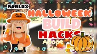 HALLOWEEN BUILD HACKS  adopt me  roblox