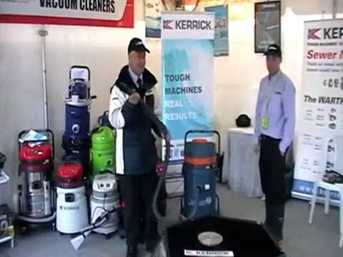 Kerrick Flowmix Vacuum Cleaner Demonstration