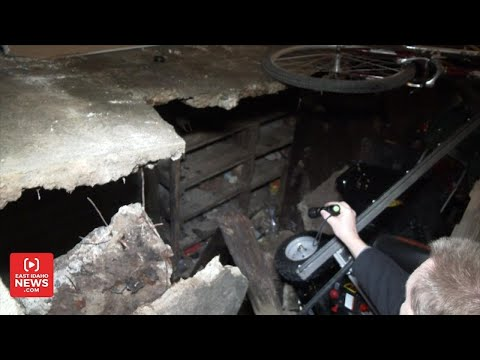 Family Discovers Secret Room Under House After Garage Floor Caves in